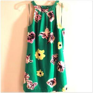 100% Silk Low Back Mini Dress